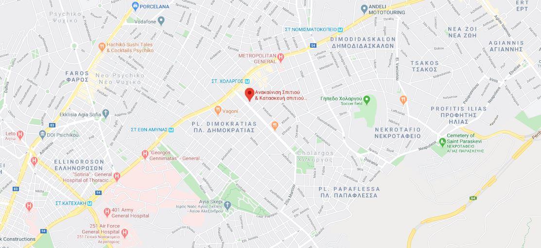 Address anakainisisspitiou.gr google maps