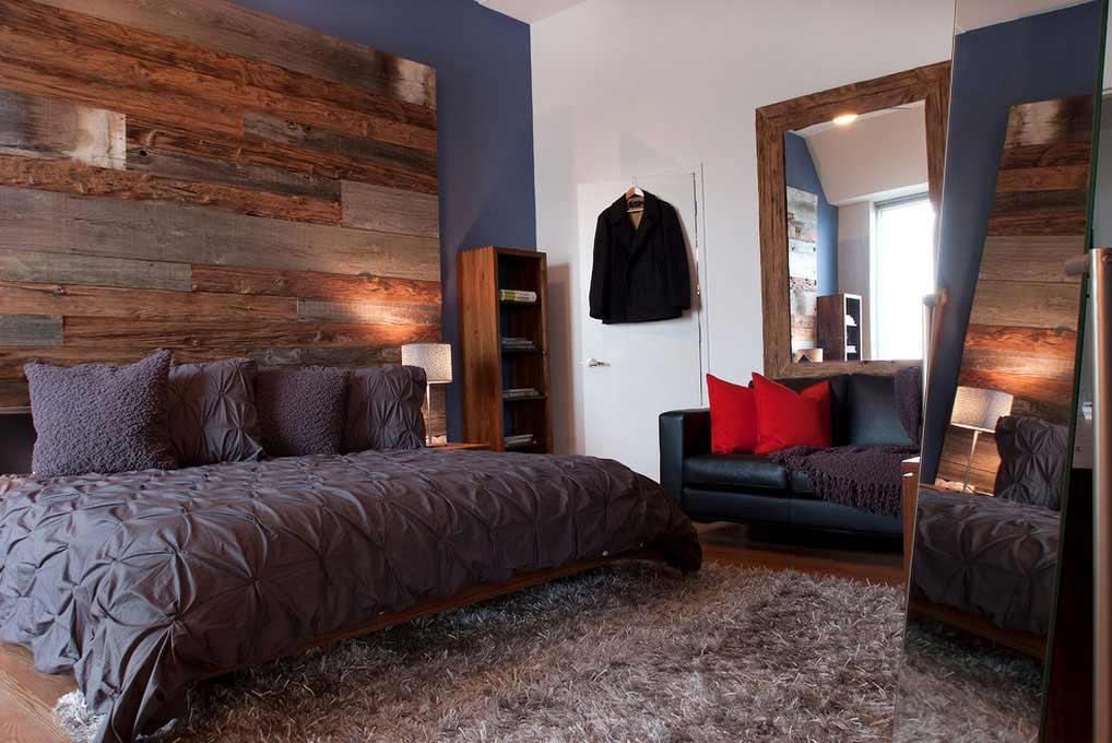 Ανακαίνιση δωματίου σε σκούρες αποχρώσεις