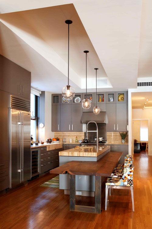 Ανακαίνιση κουζίνας σε γκρί χρώμα