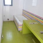 Ανακαίνιση Λουτρού: Μπάνιο σε πράσινες αποχρώσεις