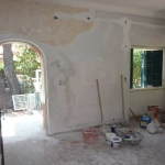 Ανακαίνιση Μονοκατοικίας: Εργασίες στο σαλόνι