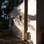 Ανακαίνιση Μονοκατοικίας: Πλάγια όψη με καμινάδα