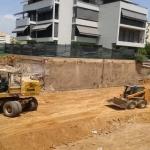 Κατασκευή Πολυκατοικίας: Εκσκαφή με μηχανικά μέσα