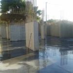 Κατασκευή Πολυκατοικίας: Πλύσιμο βιομηχανικού δαπέδου