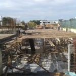 Κατασκευή Πολυκατοικίας: Καλούπωμα πλάκας υπογείου