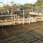 Κατασκευή Πολυκατοικίας: Σιδέρωμα πλάκας