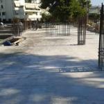 Κατασκευή Πολυκατοικίας: Τελική εικόνα πλάκας υπογείου