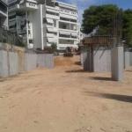 Κατασκευή Πολυκατοικίας: Μπάζωμα θεμελίωσης με χώμα