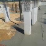 Κατασκευή Πολυκατοικίας: Ρίψη βιομηχανικού δαπέδου