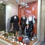 Κατασκευή Βιτρίνας: Χριστουγεννιάτικη βιτρίνα ρούχων