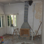 Ανακαίνιση Μονοκατοικίας: Τοποθέτηση νέου τζακιού