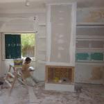 Ανακαίνιση Μονοκατοικίας: Ράφια γυψοσανίδας