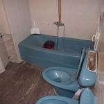 Μερική Ανακαίνιση Σπιτιού: Αποψη από το μπάνιο πριν την ανακαινιση