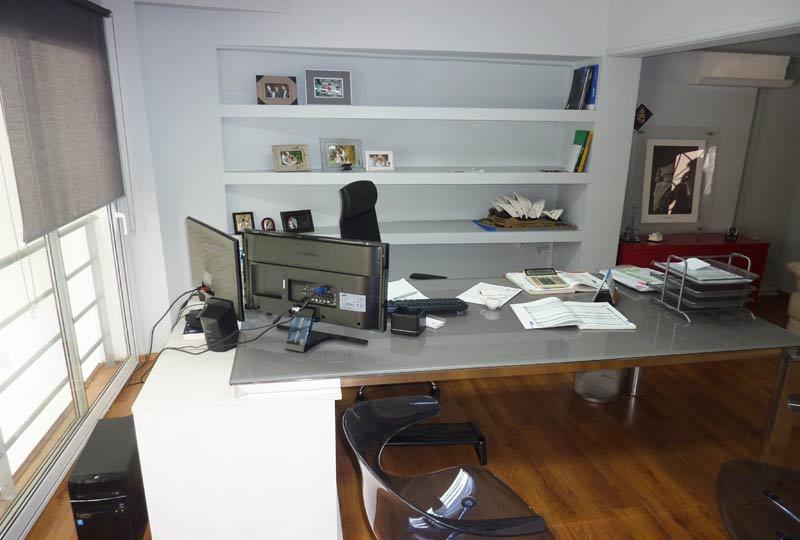 ανακαίνιση επαγγελματικού χώρου: γραφείο
