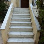 Ανακατασκευή σπιτιού : Εξωτερικές σκάλες πριν