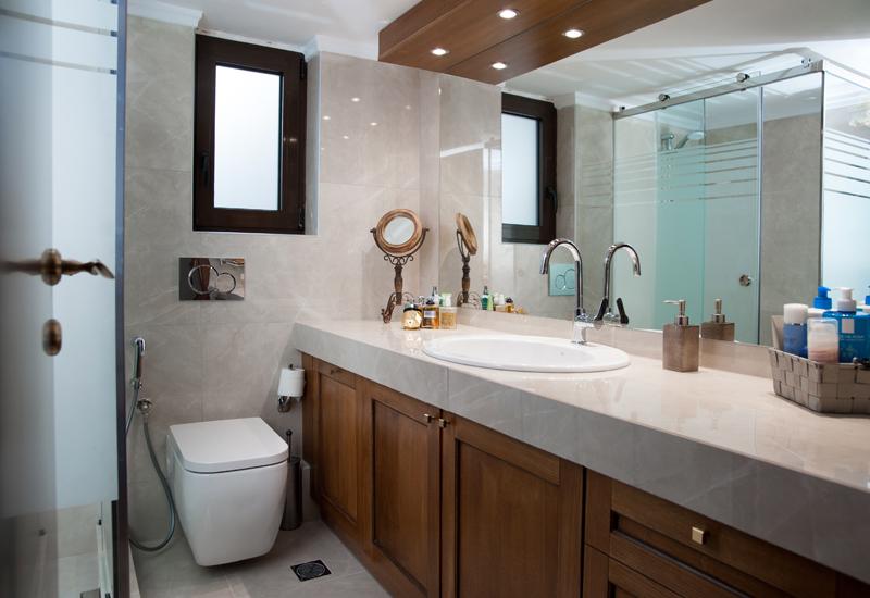 Ανακαίνιση μπάνιου παλιού σπιτιού στο Ψυχικό