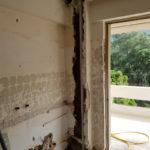 Ανακαίνιση σπιτιού 85τμ - εργασίες στην κουζίνα